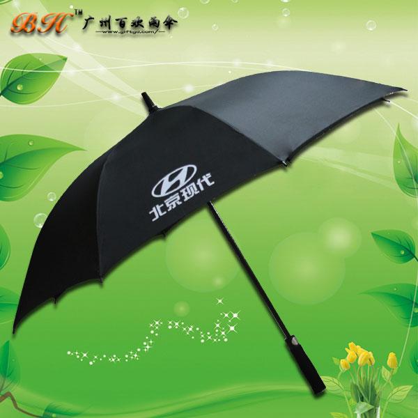 【广告伞厂家】定制-北京现代汽车高尔夫伞 广告伞 礼品伞