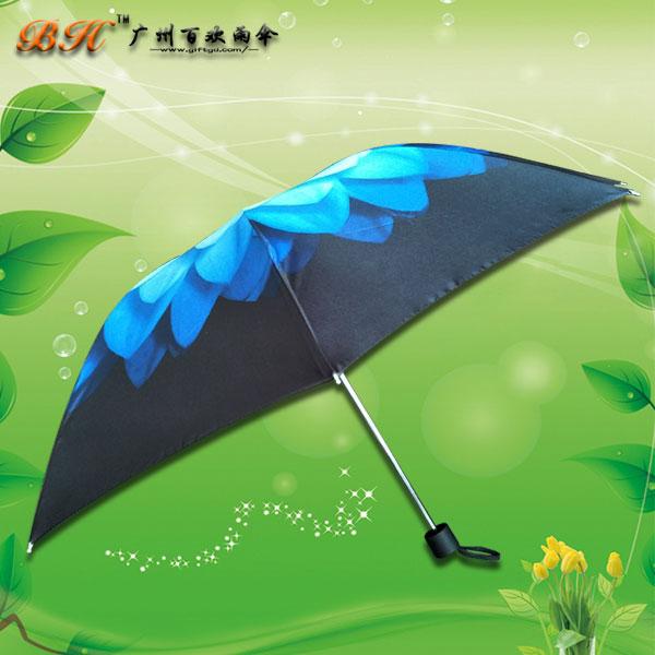 【雨伞厂家】定制-数码印花三折伞 礼品雨伞 鹤山雨伞