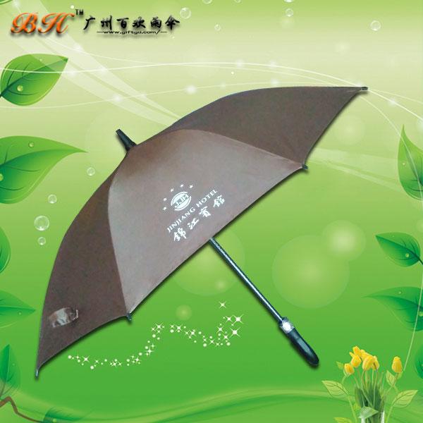 【鹤山雨伞厂】定制-锦江宾馆广告伞 宾馆备用伞 商务雨伞