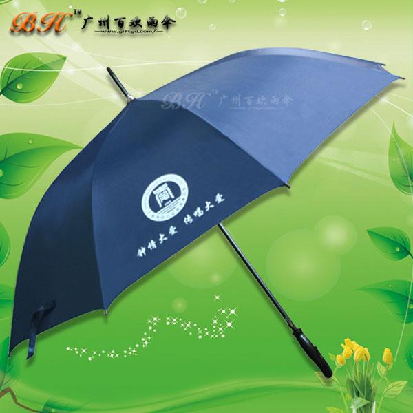 【雨伞厂】定制-钟落潭小学招生办宣传伞 27寸直杆伞 礼品伞
