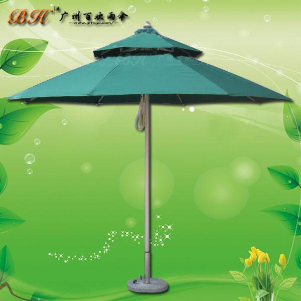 【露天庭院伞】定制-双层庭院伞 户外摆摊伞 庭院太阳伞