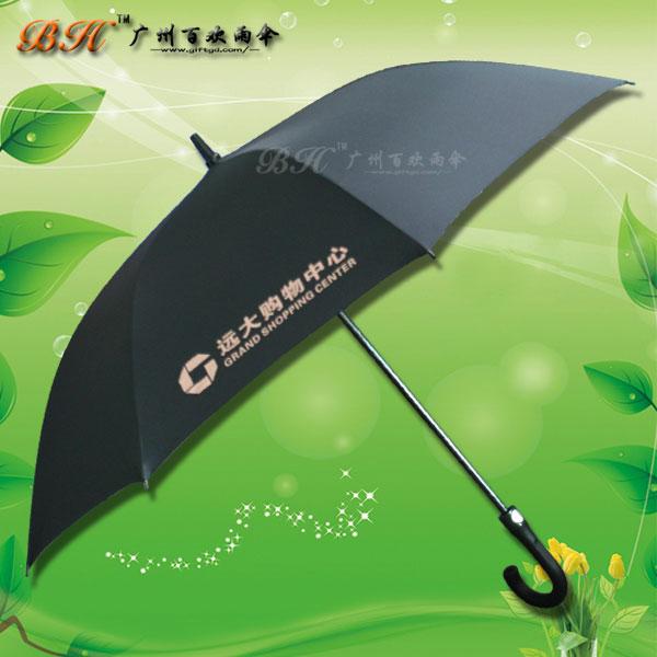 【高尔夫雨伞厂家】定制-远大购物中心 高尔夫伞 广告高尔夫雨伞