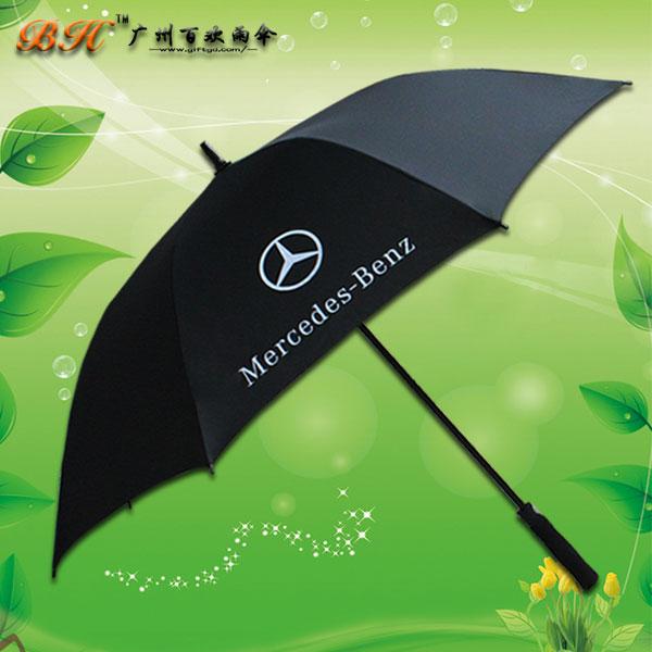 广州雨伞厂 定制-仁孚奔驰广告伞  广告伞订做   广州高尔夫雨伞