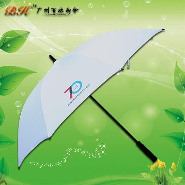 【雨伞厂家】定制-保时捷70周年庆典直杆伞   直杆雨伞厂   制伞厂