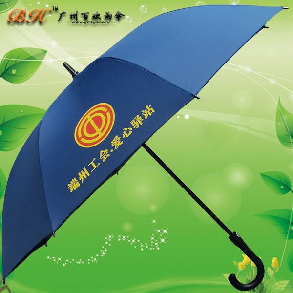 肇庆雨伞厂 三水制伞厂 端州工会广告直杆伞 雨伞定做 礼品伞