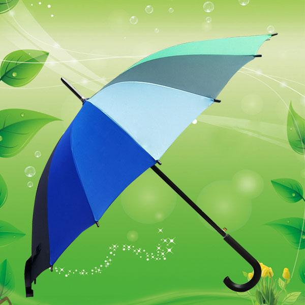 23寸彩虹16骨雨伞 彩虹直杆雨伞 双骨彩虹伞 高尔夫彩虹雨伞