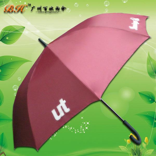 【广州雨伞厂】生产-ut广告雨伞 直杆广告伞  广告雨伞厂