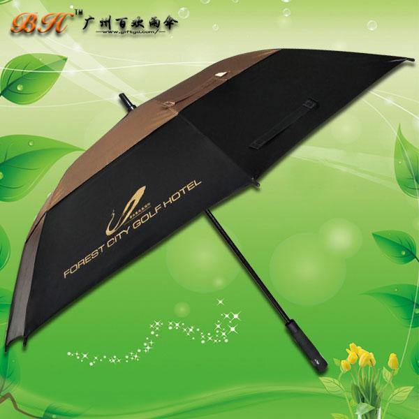 【广州雨伞厂家】定制-碧桂园凤凰城伞 高尔夫伞 广告伞